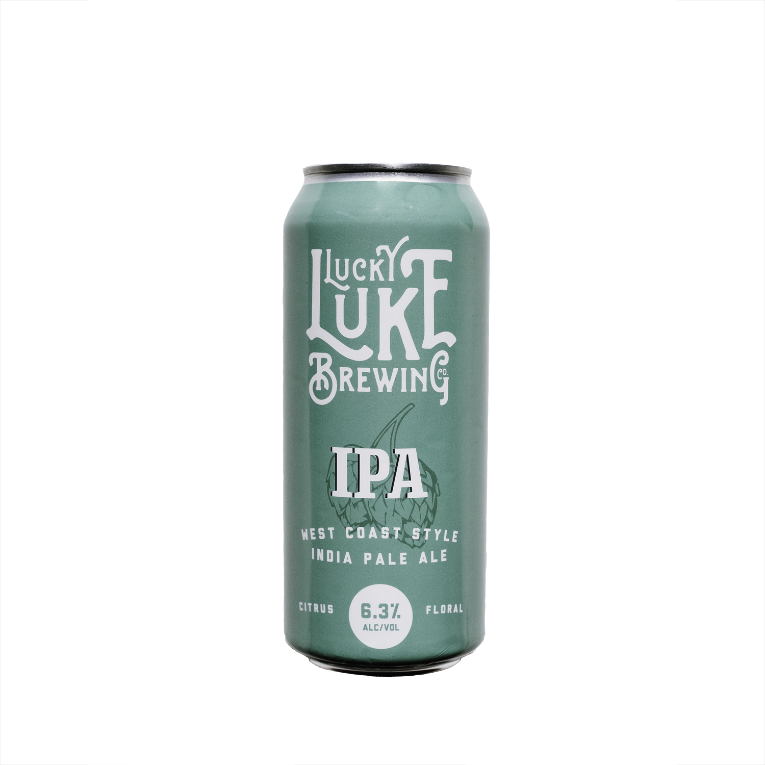 Lucky Luke Brewing    West Coast Style IPA   I'm not sure you've ever met better people than these guys at Lucky Luke!  Our first run with them was