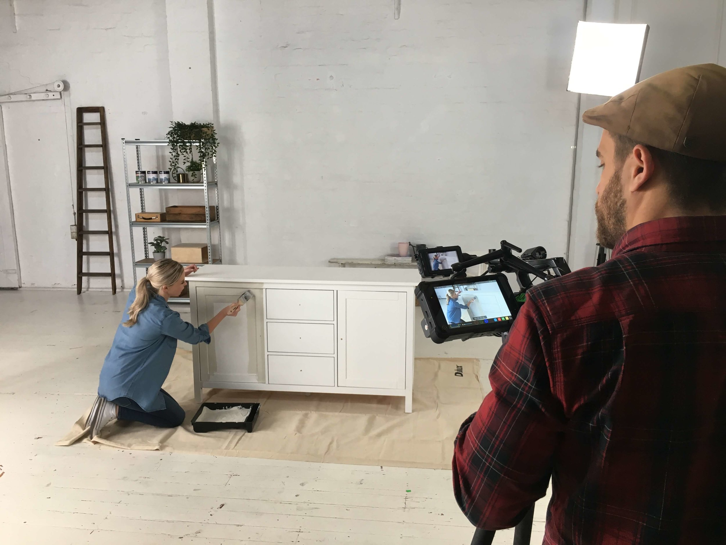 BTS Shooting Video Content in Melbourne