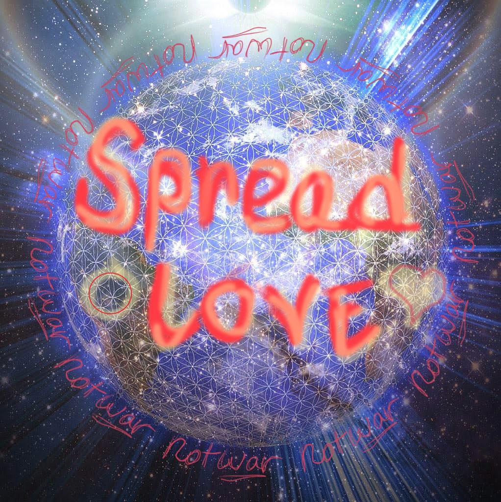 spreadlovenotwar