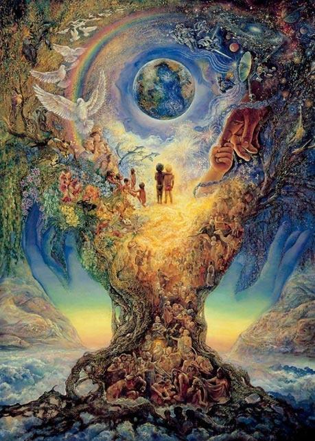 Millenium Tree (Tree of Peace) by the extraordinary Josephine Wall