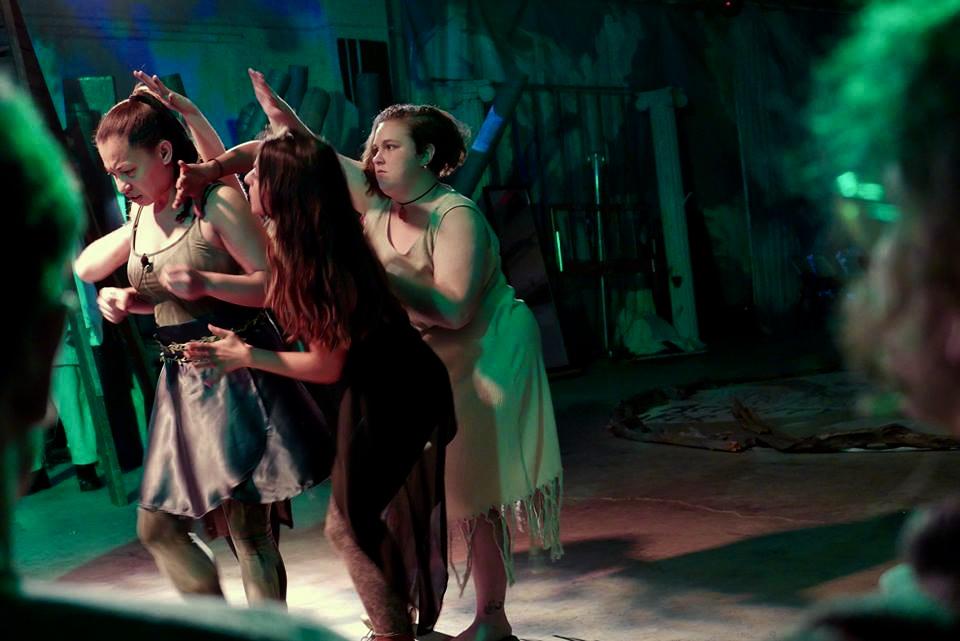Gloria Matthews, Brianna Battista, Leyla Gentil by George Life.