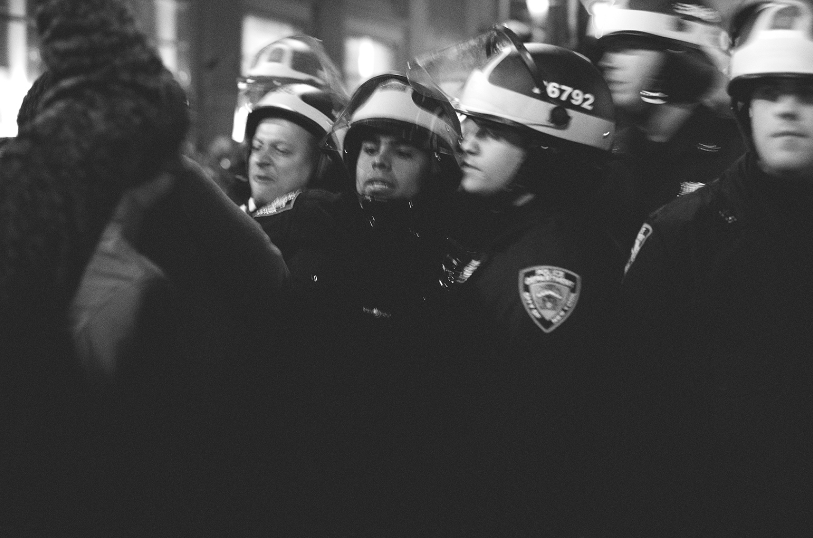 To Serve And Protect 01 and 02 Occupy Wall Street New York City 2011