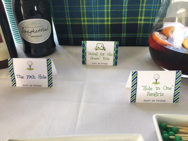 buffet cards golf theme boy birthday party ideas.JPG