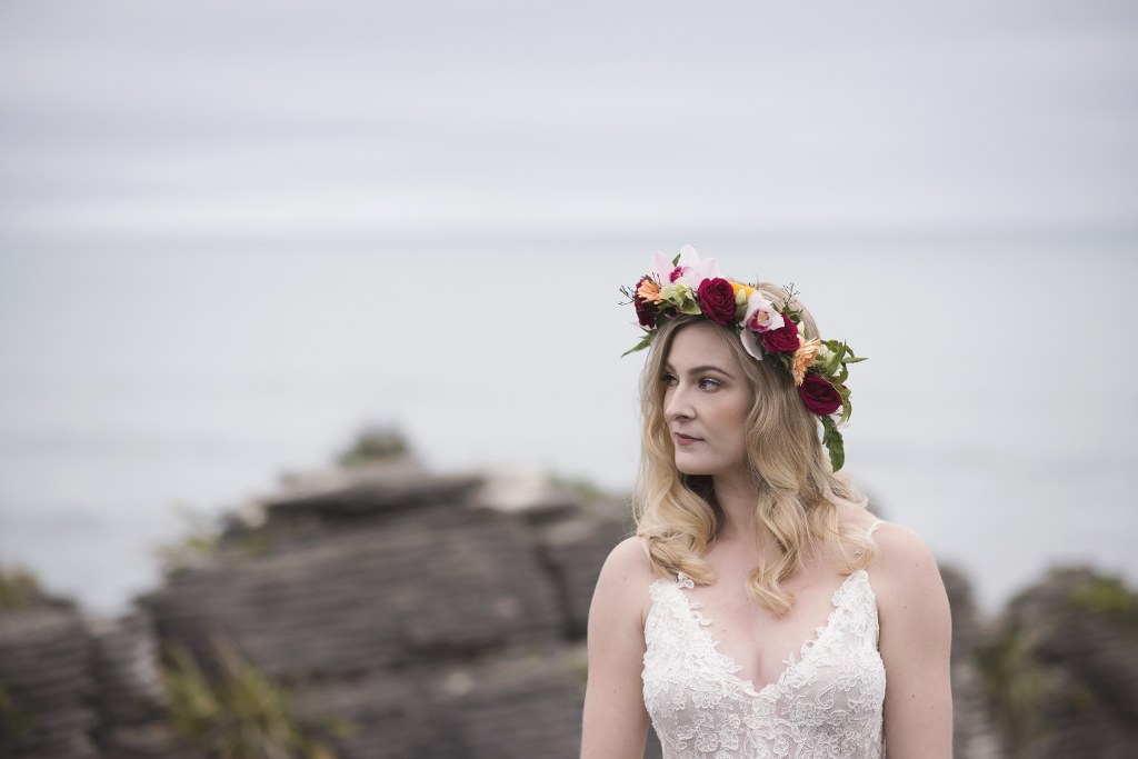 Punakiaki Tropical Bride