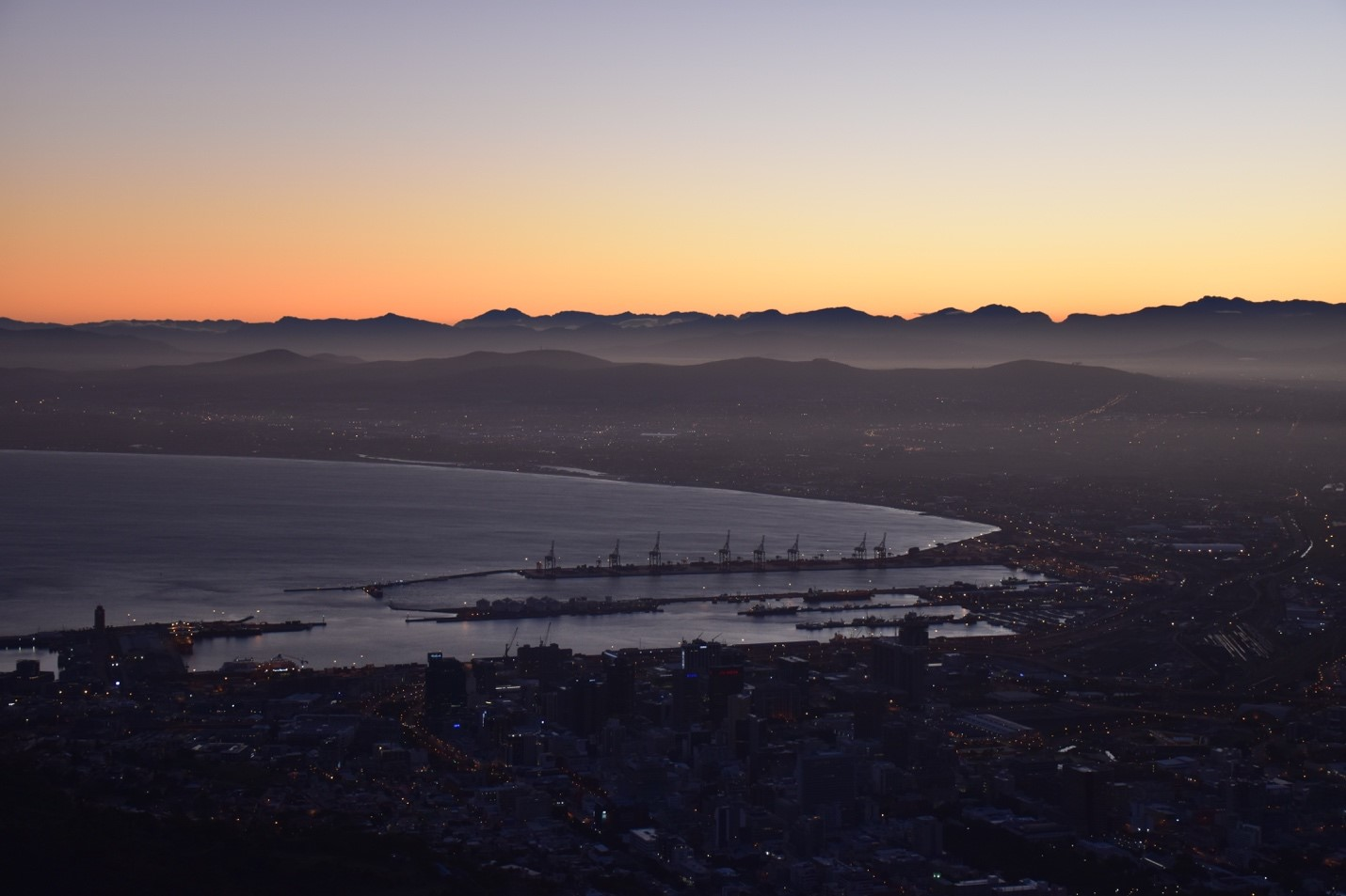 The Cape Town cityscape. Photo courtesy of Adam Yates.