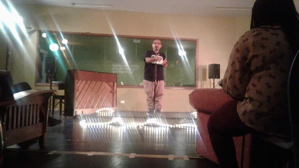 Urban Sandbox   - Youth open- mic