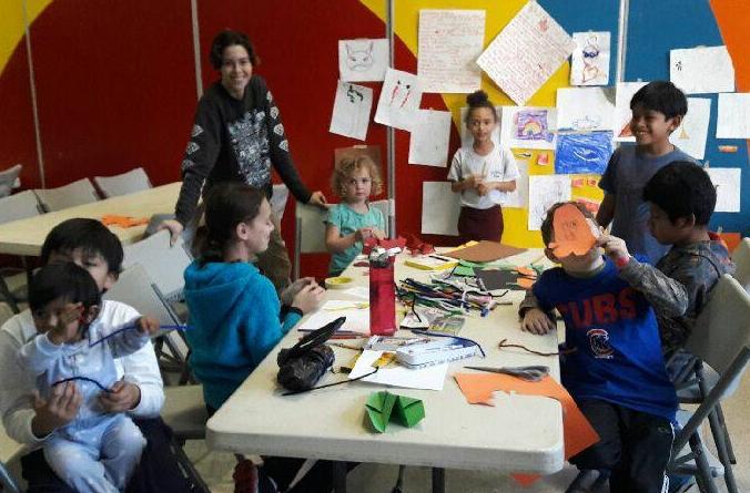 Fine Arts for Kids - Mixed Media arts at Mozart Park -- FREE!