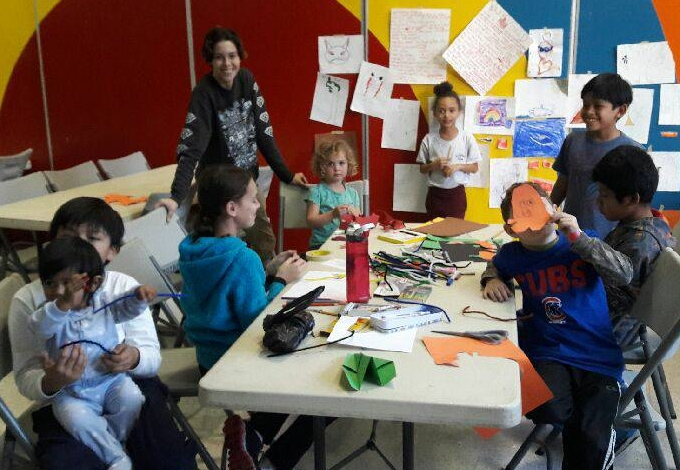 Fine Arts for Kids at Mozart Park - Mixed Media Arts with artist/teacher, Dylan Cullison