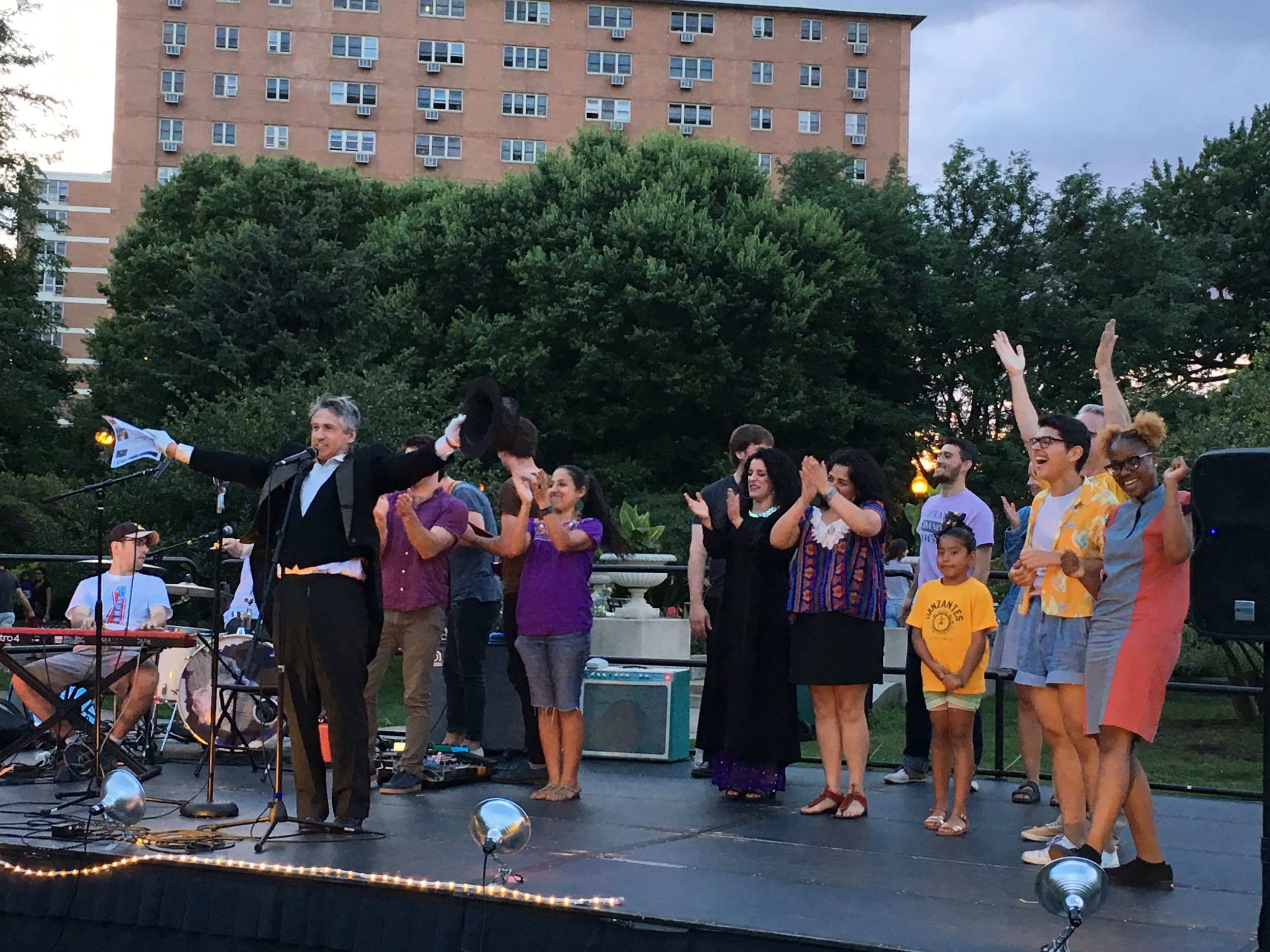 Vaudeville Nights 2019 - Voice of the City and Night Out in the Parks presentSummer means Voice of the City's Vaudeville Nights as part of Night Out in the Parks!Vaudeville Nights! Our next show: Come join us Friday, July 12th at 7pm at Columbus Park, 500 S Central Ave. for free show of amazing entertainment!Music, circus, puppetry, dance from the likes of: Bassel & the Supernaturals, Elastic's Sam Samuel J Lewis II, jugglers: Brad French, Dharmesh Bhagat, and Jason Kollum, Ballet 5:8, singers: Alleh Garcia and Teressa Kuruvilla. All that and so much as part of Voice of the City's Vaudeville Nights!