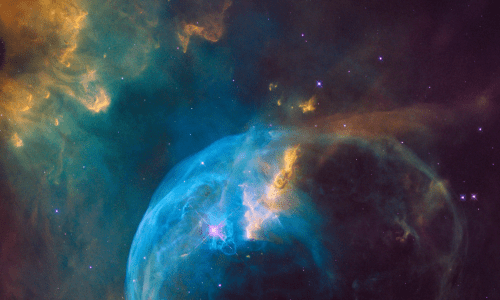 Energy Psychology works at the subtle energy and causal levels. This is the Bubble Nebula in the constellation Cassiopeia. Nebulas are the birthplace of stars.