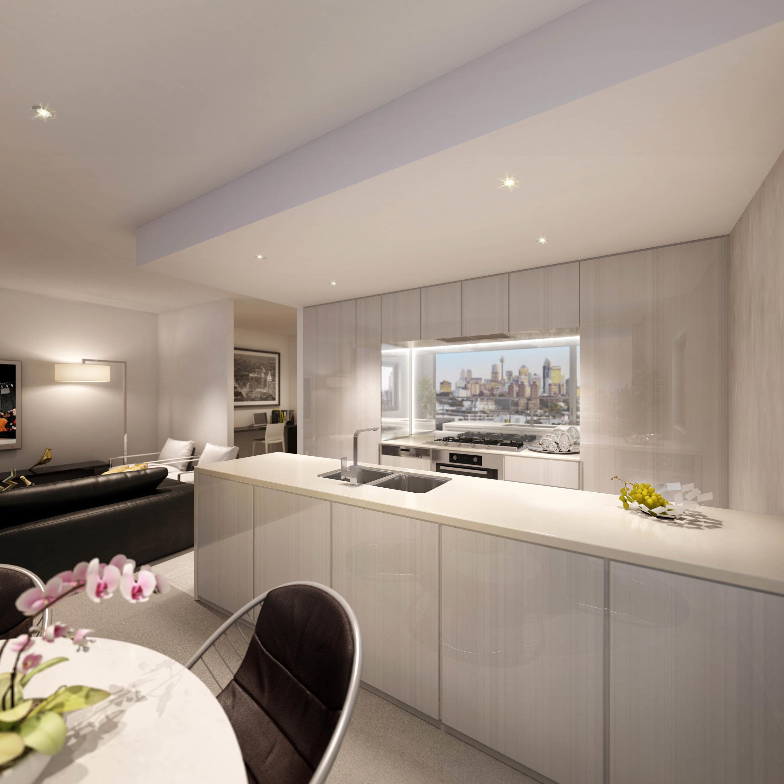 2 Bedroom - Kitchen 1 - Pearl.jpg