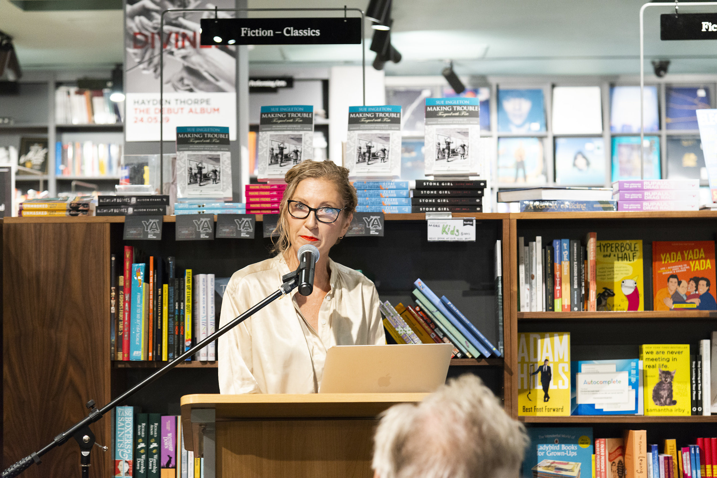 Joanna Murray-Smith Launches Book at Readings Carlton.
