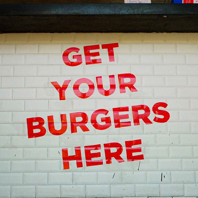 "Did somebody say ""burgers?"" 🍔😋⠀ ⠀ #Burgerhood"