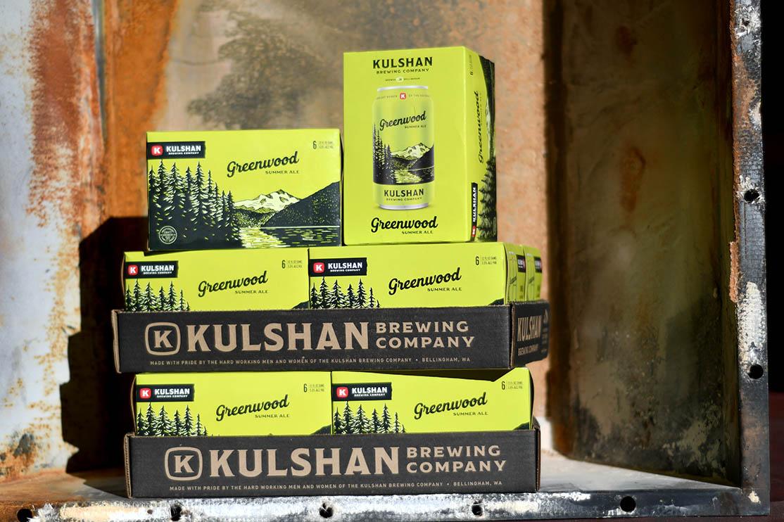Kulshan Brewing Greenwood Summer Ale