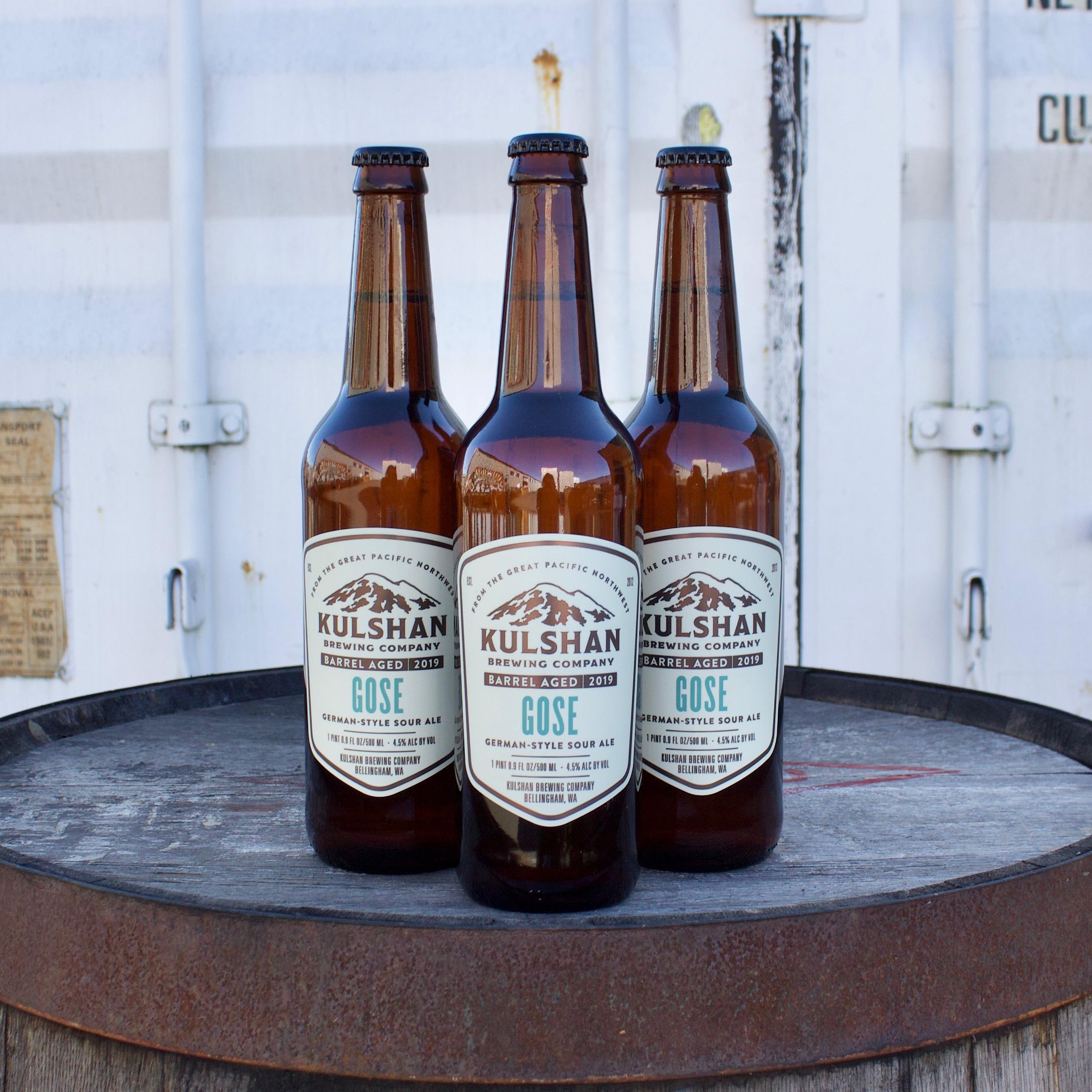 Kulshan Rum Barrel-Aged Gose