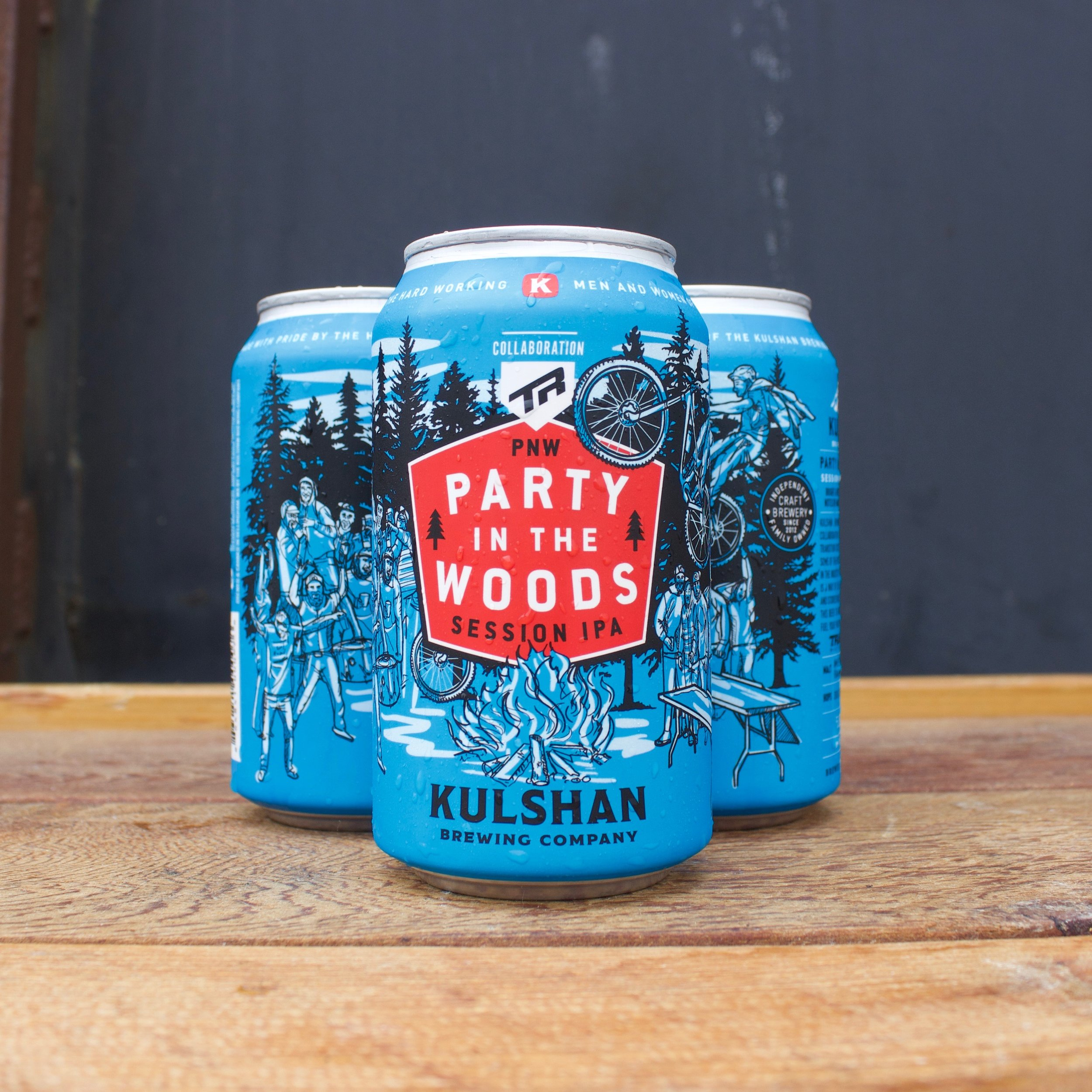 Party In The Woods Session IPA from Kulshan Brewing Co.