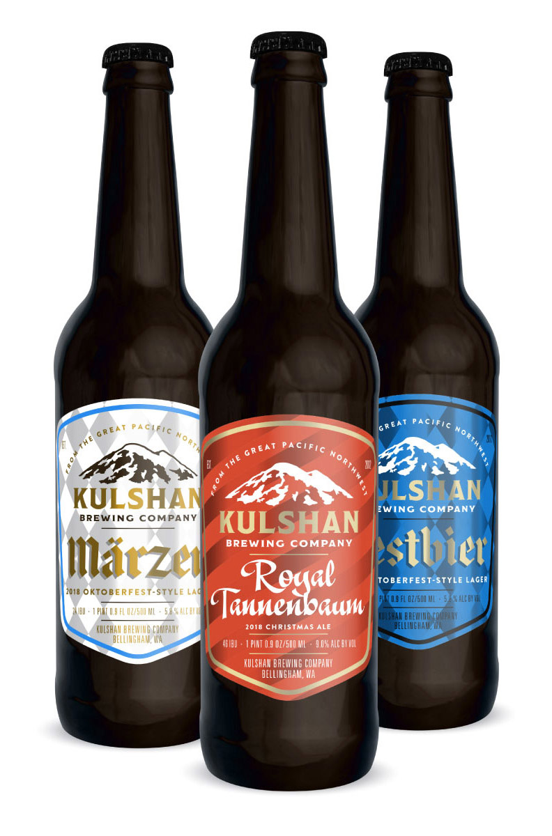 Kulshan Specialty Beer Bottles