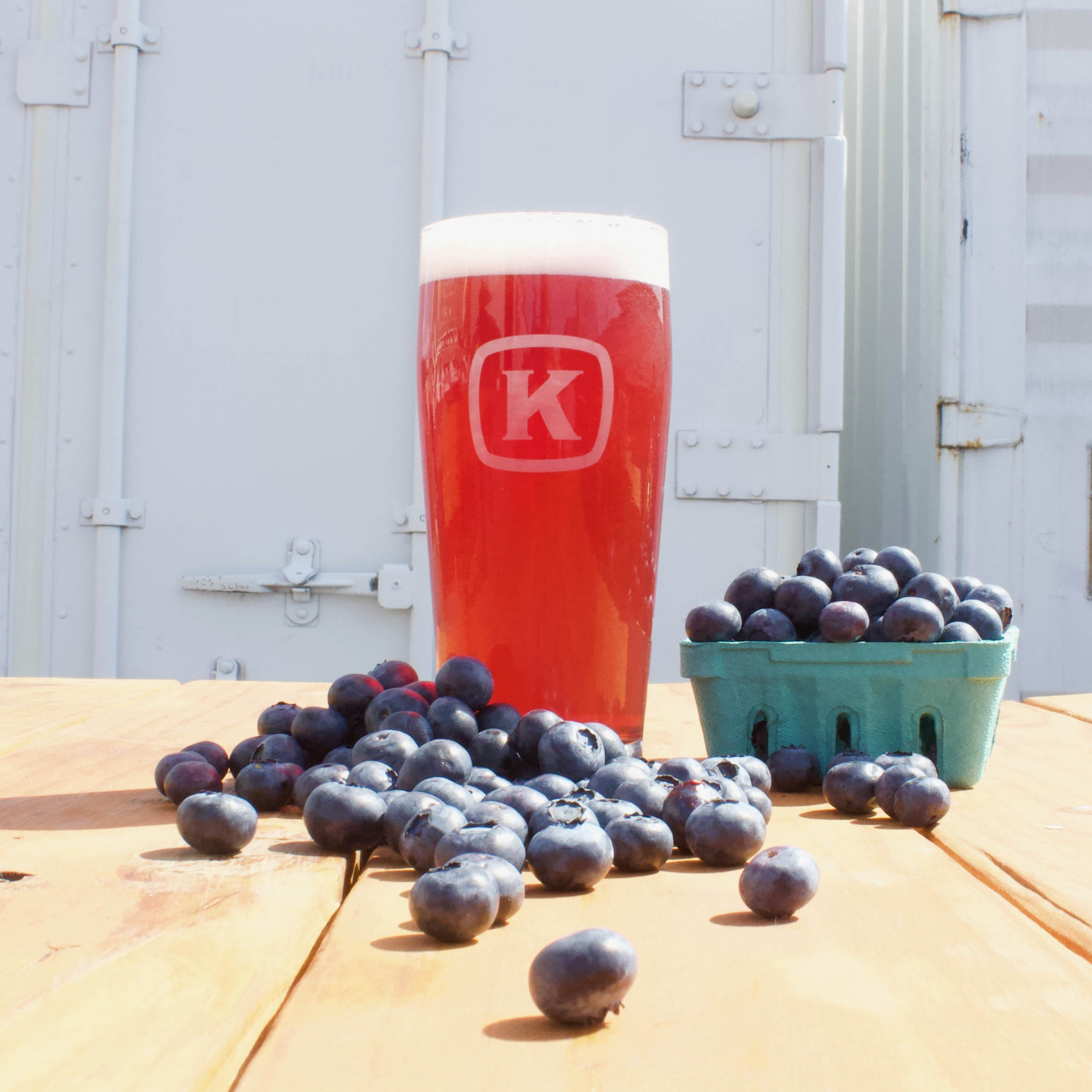 Blueberry Infused American Wheat Ale from Kulshan Brewing