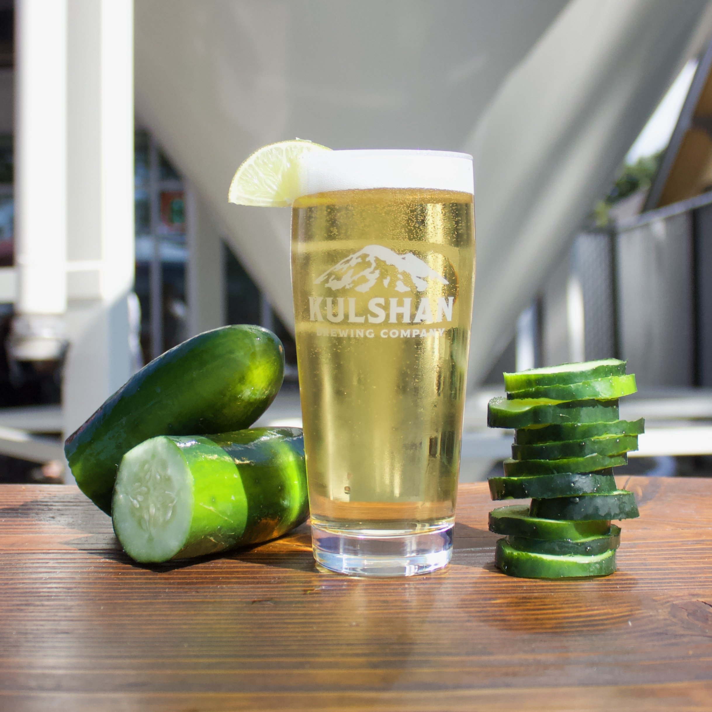 Cucumber Light Lager from Kulshan Brewing Co.