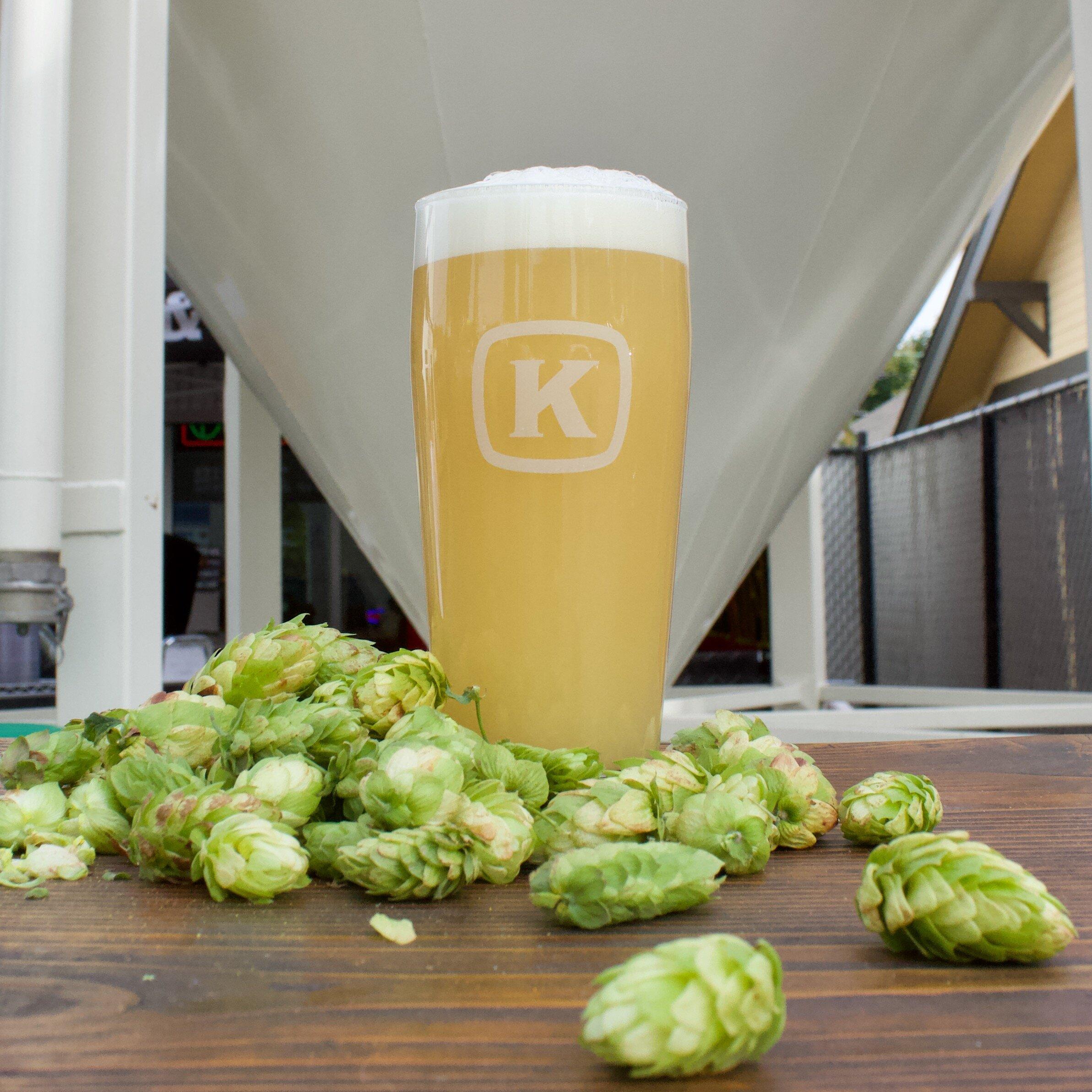 Fresh Hop Hazy Double IPA from Kulshan Brewing