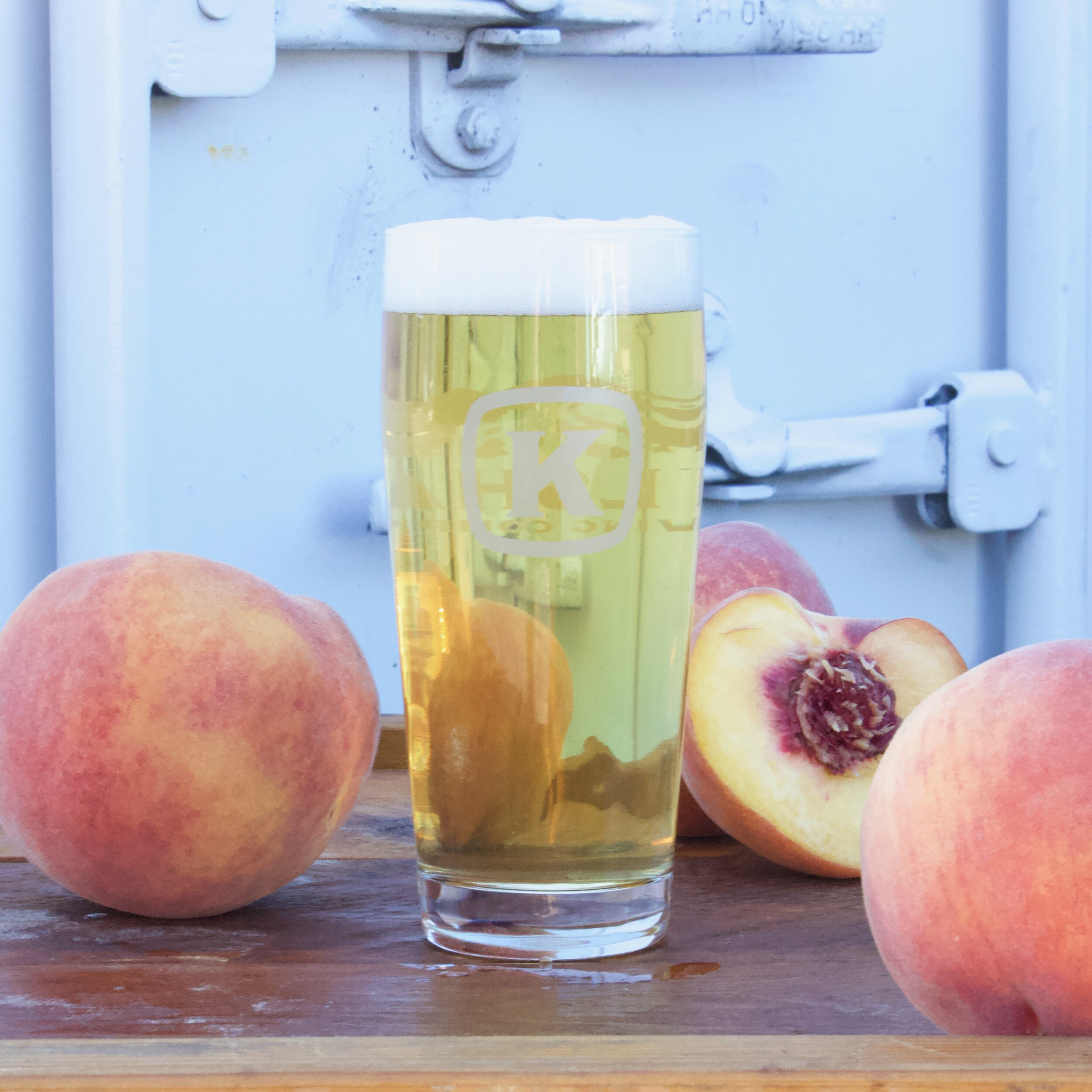 Peach Apero from Kulshan Brewing