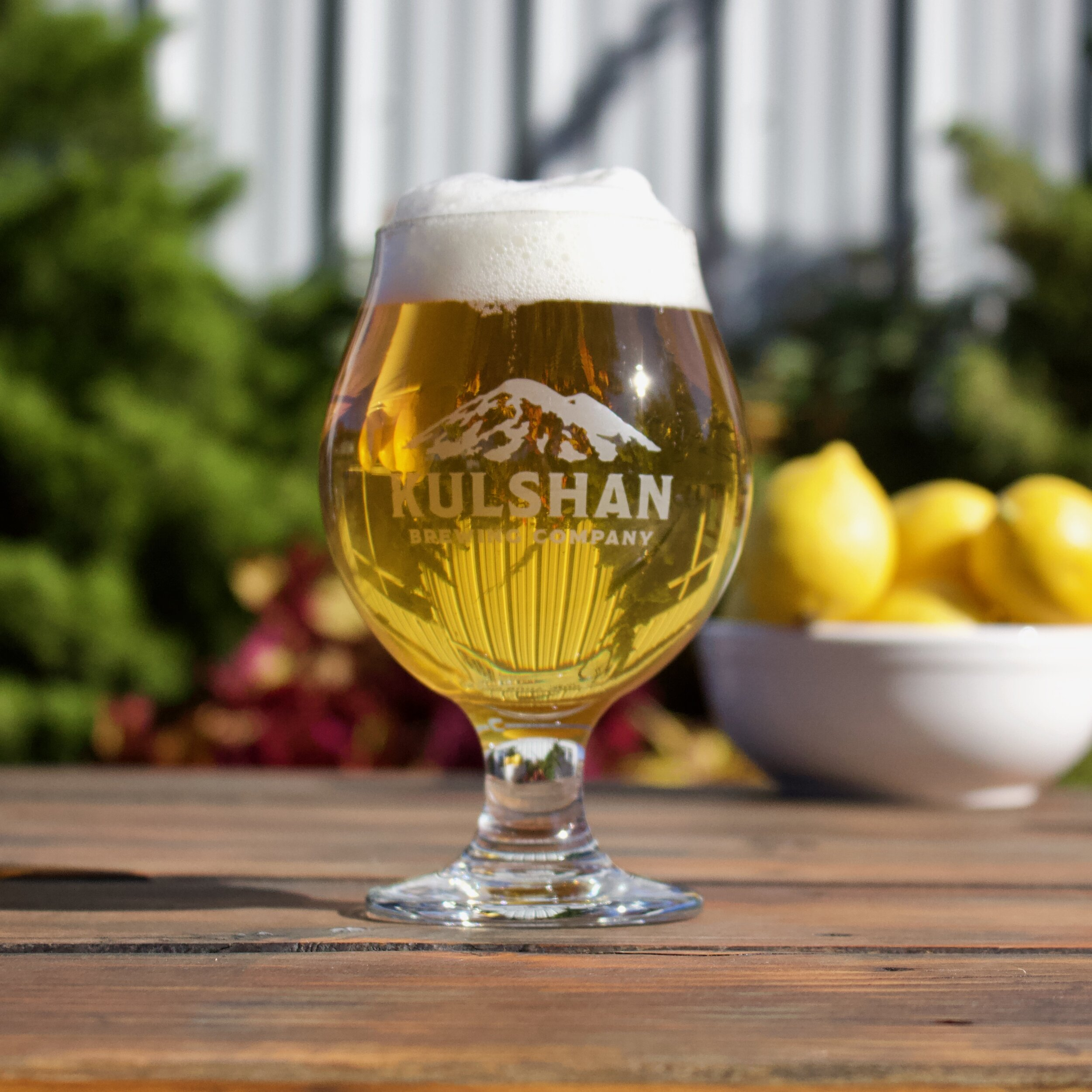 Lemondrop Sunshine Belgian Saison from Kulshan Brewing