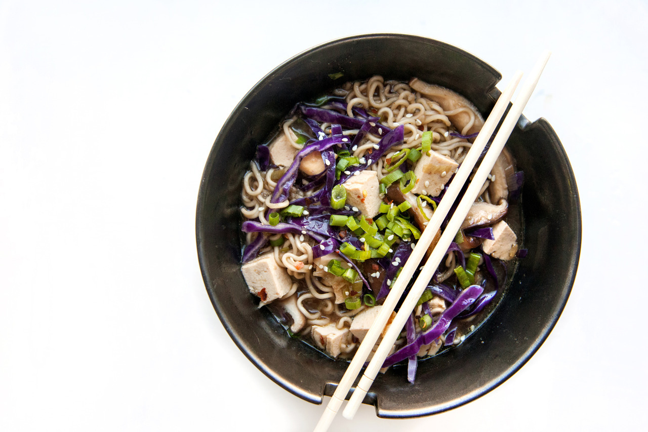 Ginger Noodle Bowl  Barre Fitness Blog - Recipe Here