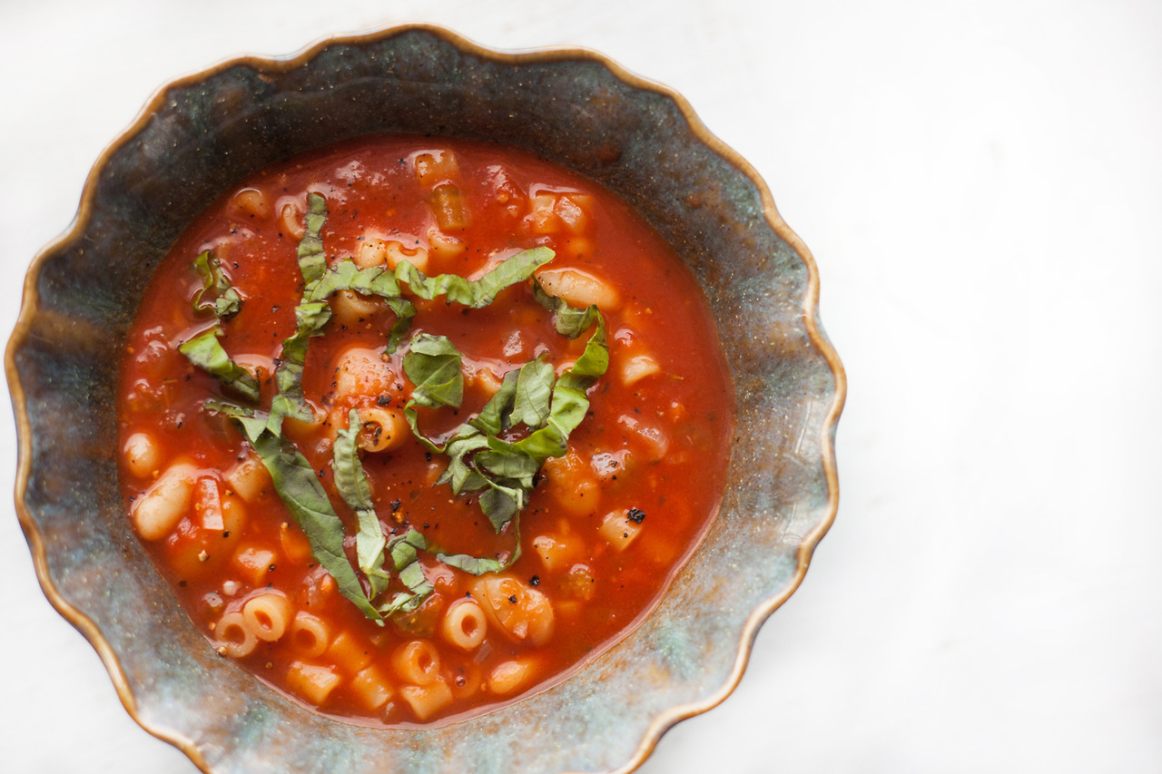 Pasta Fazool //  Recipe on the Barre Fitness Blog