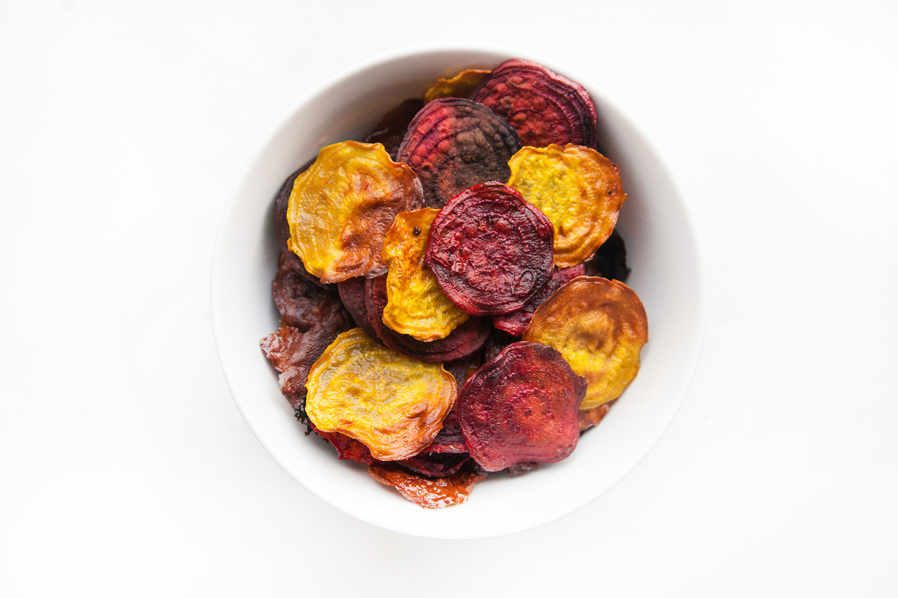Beet Chips //  Recipe on the Barre Fitness Blog