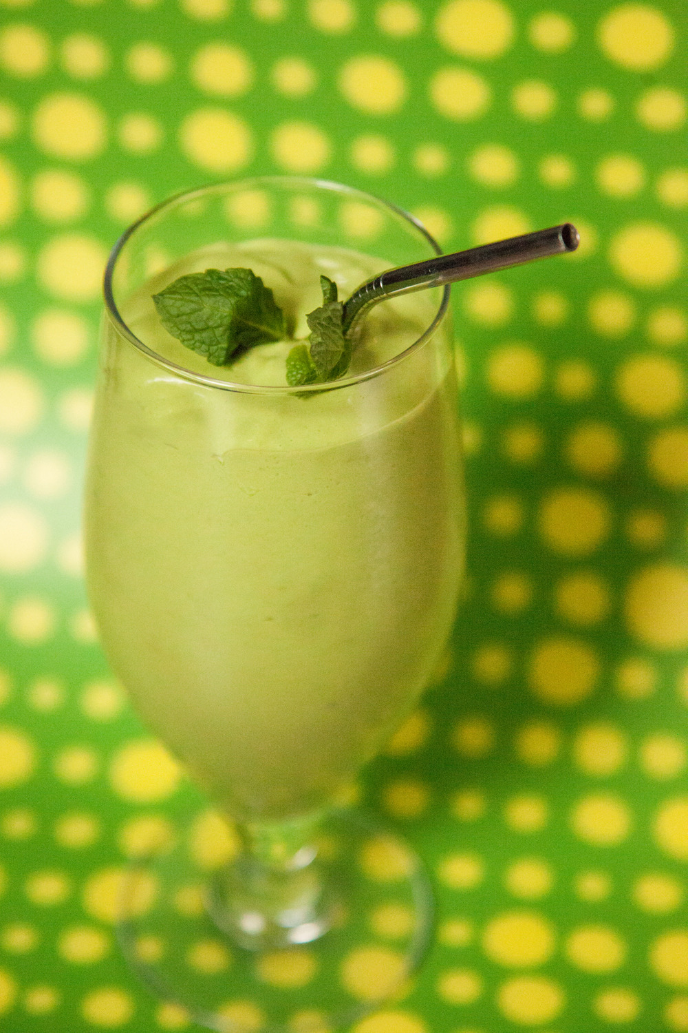 "Happy St. Patrick's Day!   How about a vegan ""Shamrock Shake"" for a festive snack?    Recipe on the Barre Fitness blog."