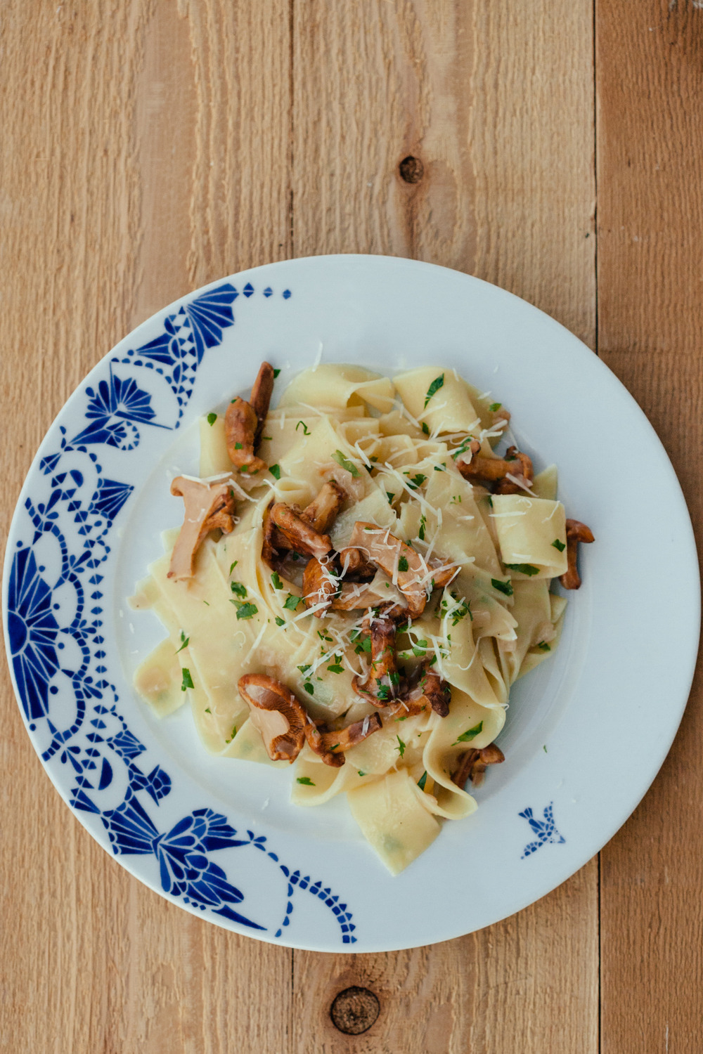 My awesome gym here in Vancouver,  Barre Fitness , just launched it's new website, including  a brand new blog .  It just so happens that I'll be doing some work for them, covering recipes and food, music, fashion and more.   My first post kicked off with a recipe for this Chanterelle & Pappardelle dish . It's delicious, I know because I ate it all very very fast. I'll post some more as I go.