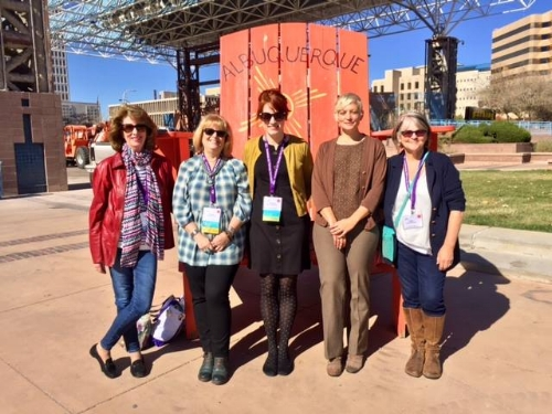 MATA members representing at the 48th Annual Conference of the American Art Therapy Association in Albuquerque New Mexico! (November 2017)