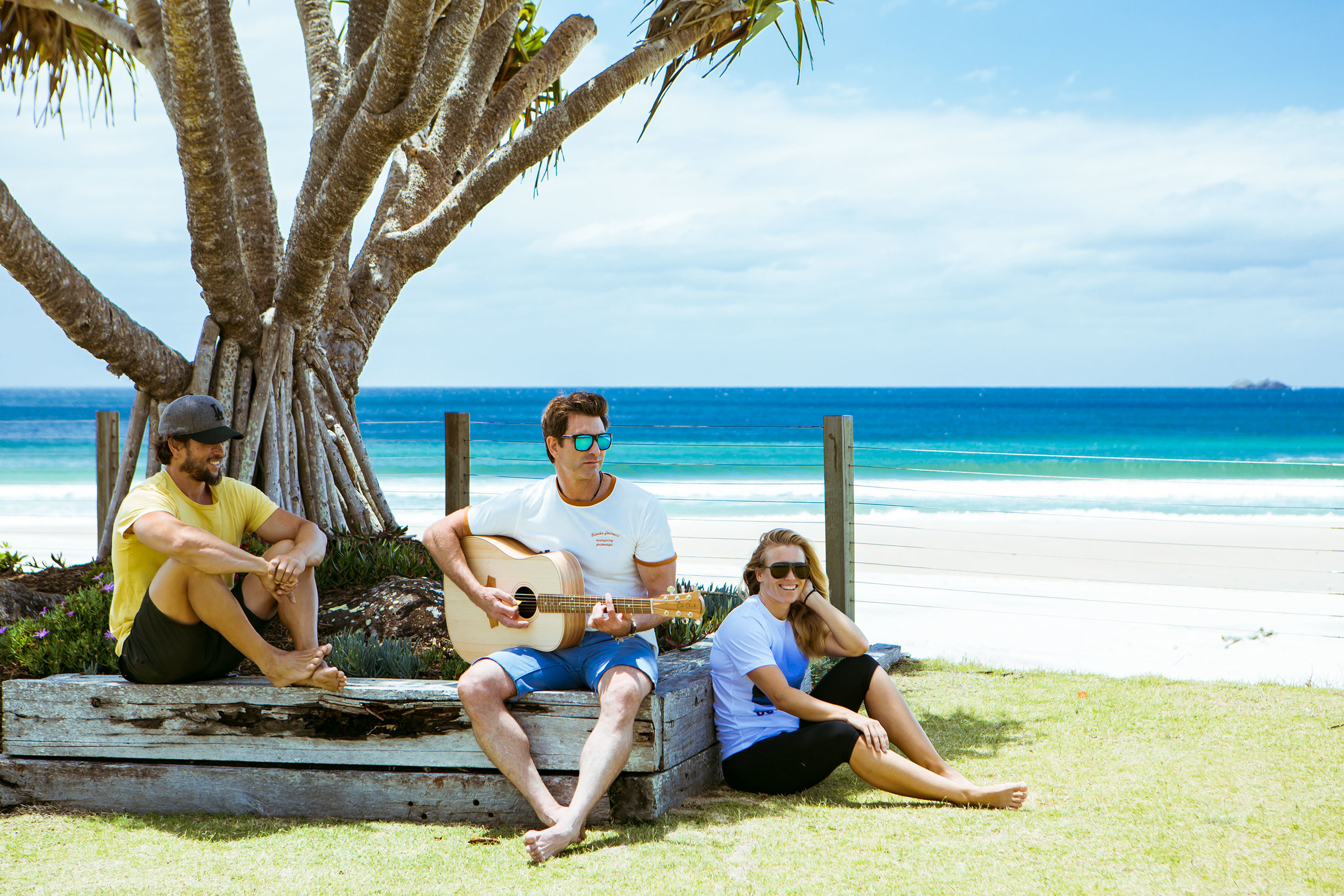 Join Pete Murray & Benny Owen in Byron Bay, a little slice of paradise