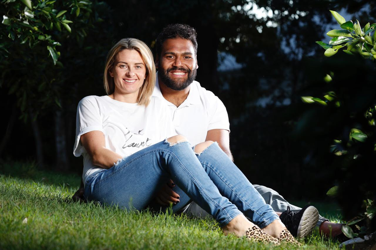 Special guests Sam & Rachel Thaiday