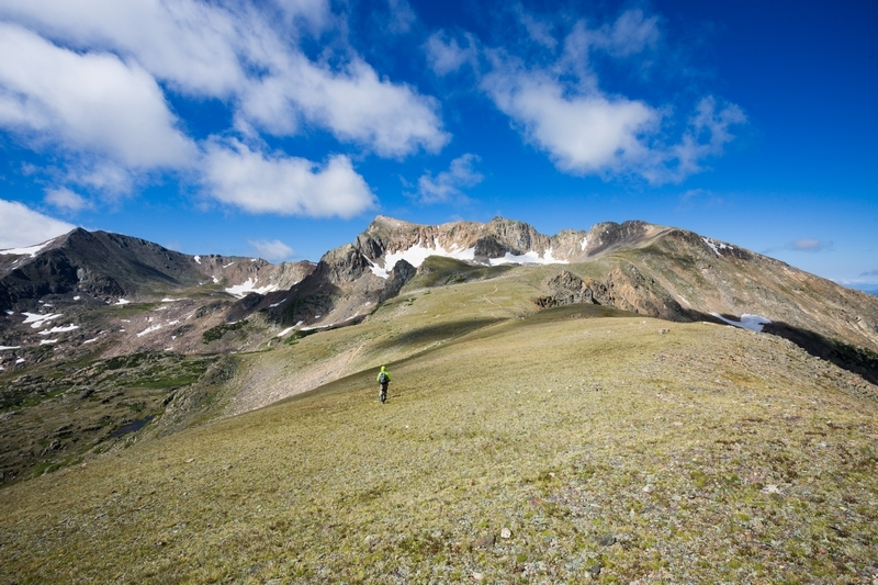 Hiked up to the stunning Arapaho Pass in Indian Peaks Wilderness (without the crowds!)