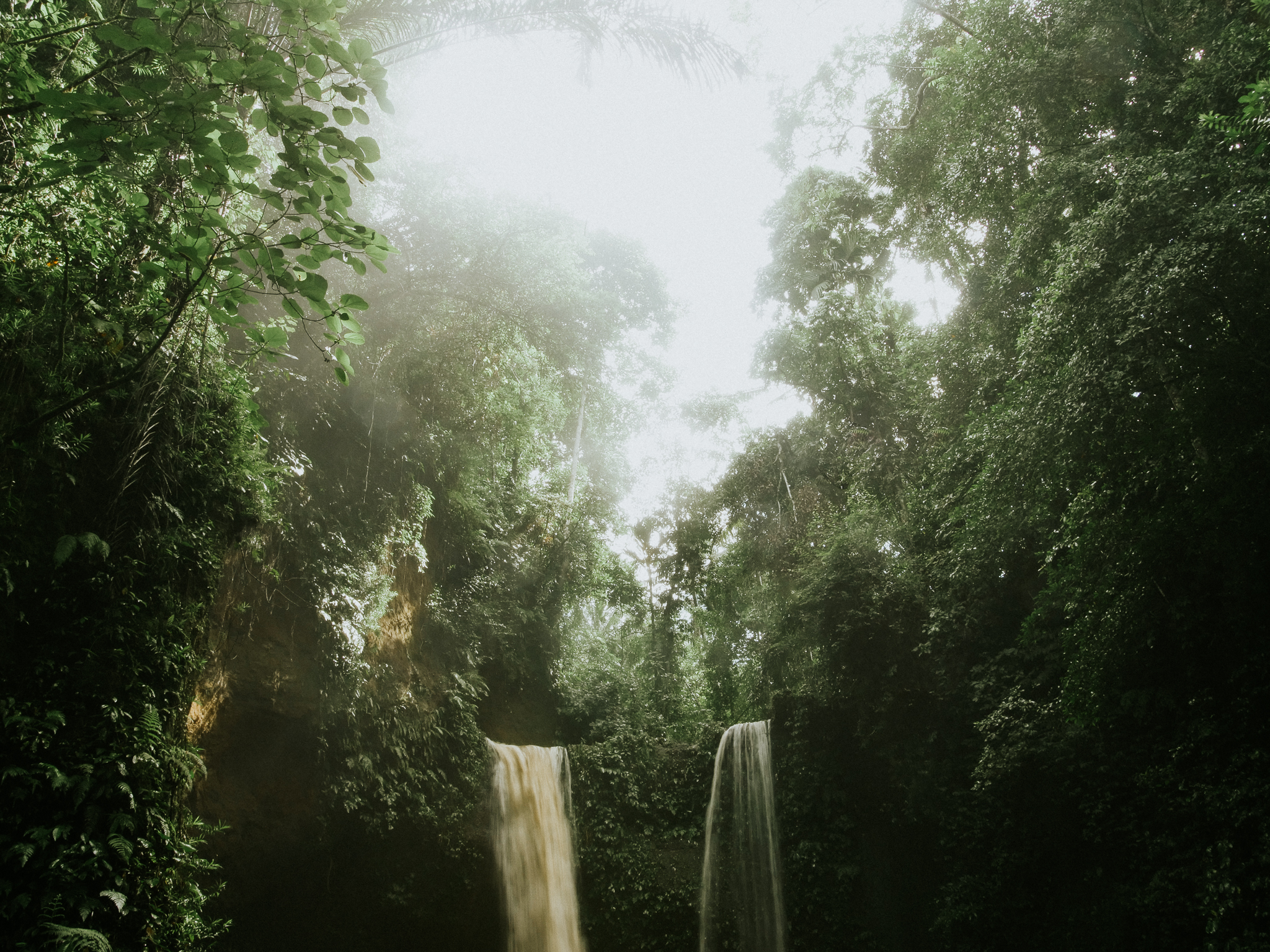 Bali Rainforest Waterfalls