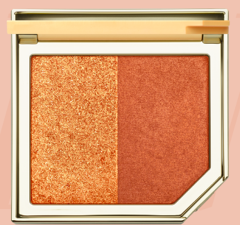 - Fruit Cocktail Blush Duo Apricot in the Act-Beautiful Bronzy toned Blush
