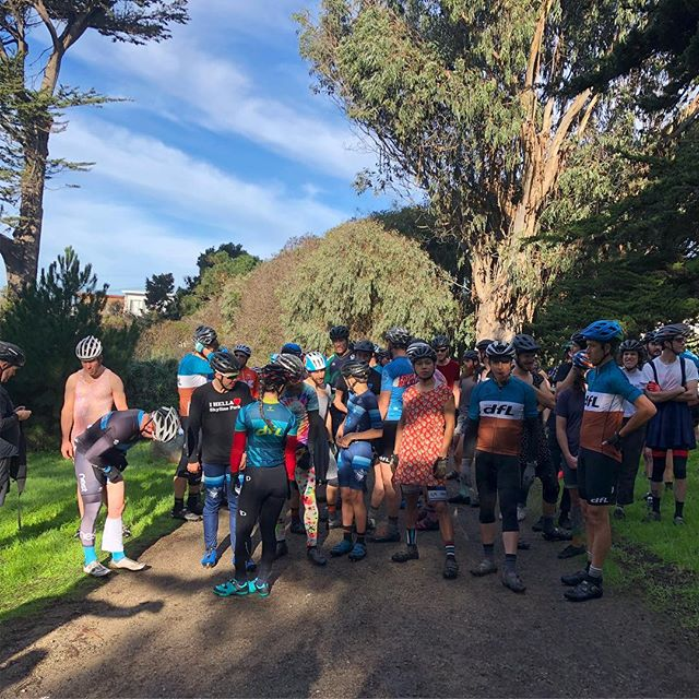 Annual dfL Cross Race in ggp.  Is this the 2nd oldest cross race in Ca ?  24 years strong 💪