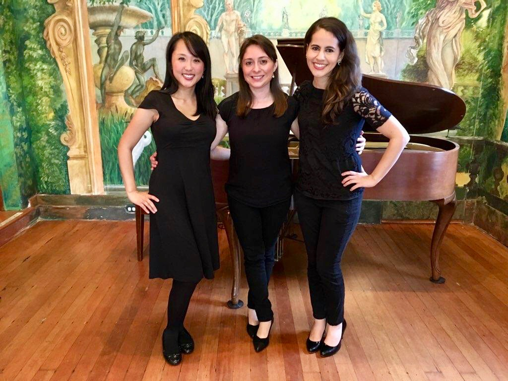 After a lovely noon concert at Throckmorton Theatre with our new cellist, Carlyn Kessler!  November 28, 2018