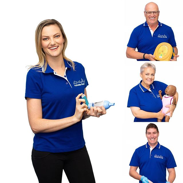 Couple new staff shots of the crew from @paradisefirstaid_au get in touch with them if you need to get your CPR Or LVR certifications updated ! Awsome group of people with great communication skills !