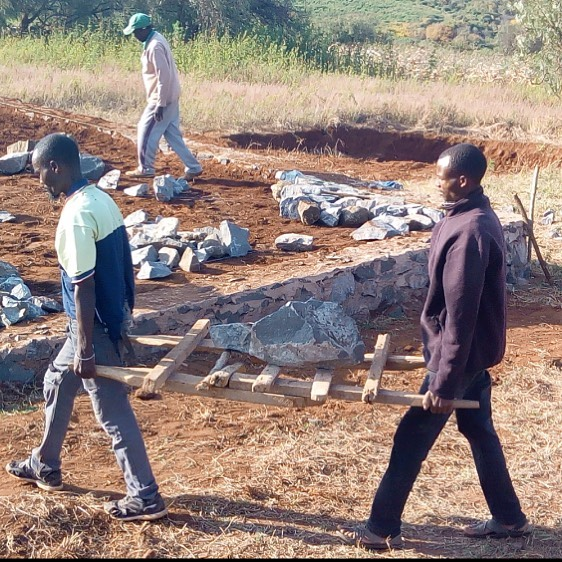 Progress being made in the construction of the classrooms! #tanzania #africa #construction