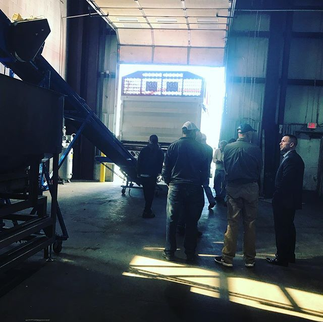 Throwback to December when @blueforestfarms finished operational start up on this beautiful piece of machinery.  #tons #biomass #industrialhemp #hemp #hempfarming #hempharvest #hempoil #cbdoil #cbd #organic #hempprocessing