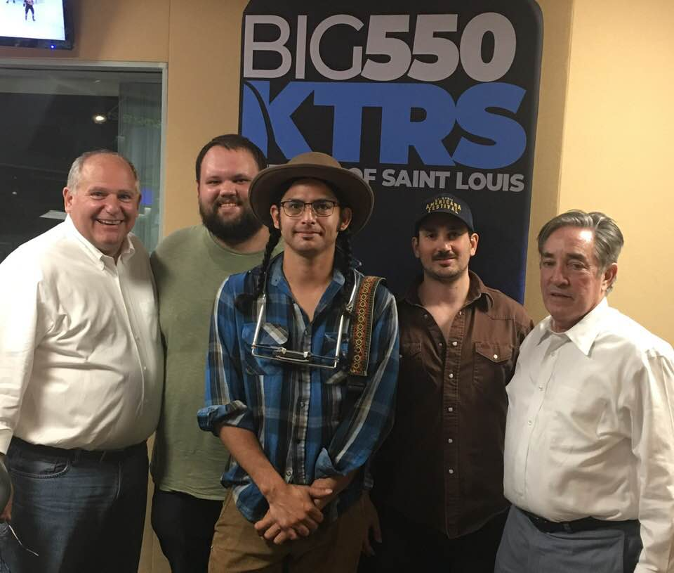 Live interview with Jay Kanzler on KTRS550 with 2 acoustic performances -