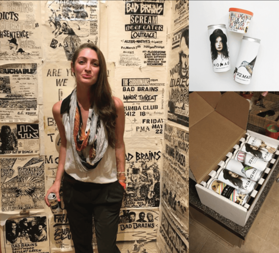 At a Subliminal Projects event, featured with Ice Cream and a Nomadica Gift Pack