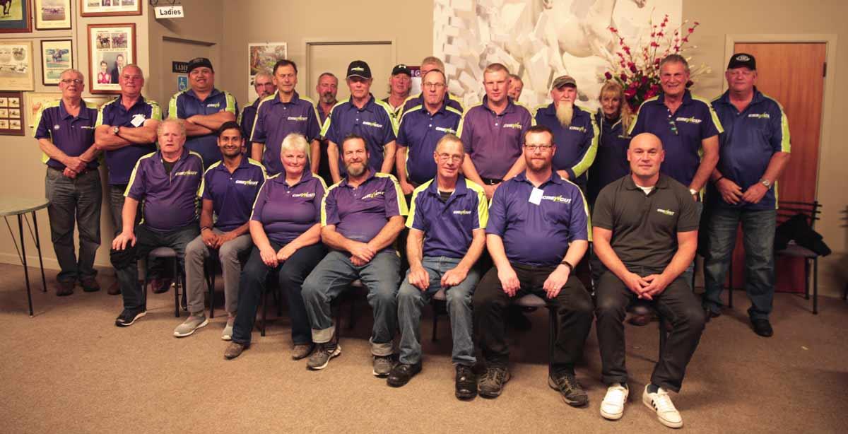 The Manawatu Crewcut team have regular meetings