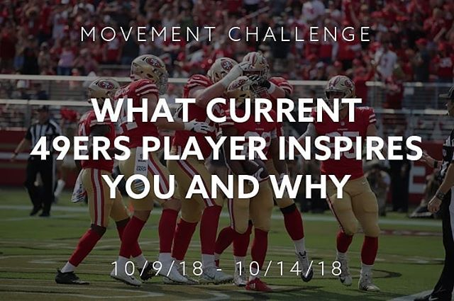 Calling all @49ers Faithfuls. Download beHuman to connect & take the weekly challenge.  This week's #49ers Challenge: Let your fellow Faithfuls know which current #49ers player inspires you.  Download beHuman: http://bit.ly/beHuman_ #beHuman #FaithfulFootball