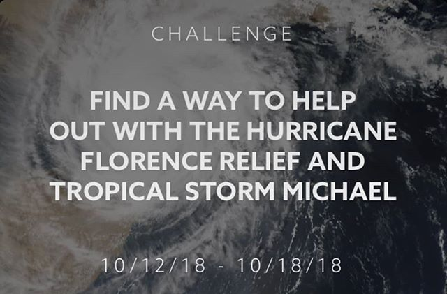 Special Weekly #beHuman Challenge:  Find a way to help those impacted by #HurricaneMichael and #HurricaneFlorence.  Share your efforts on the beHuman App, receive tokens and inspire others to take action!  @americanredcross #donate #volunteer #inspire