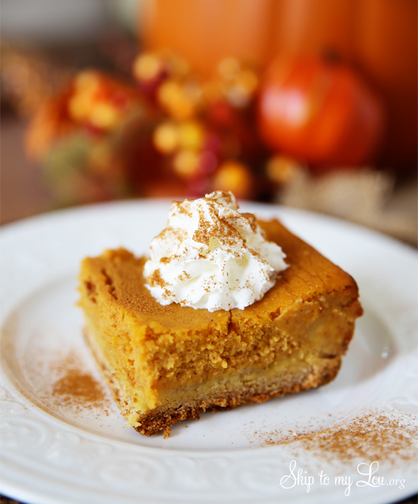An easier way to get all the flavors of pumpkin pie without all the work!!!