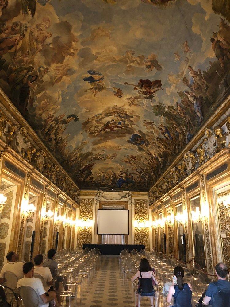 Ballroom in Medici Family home.