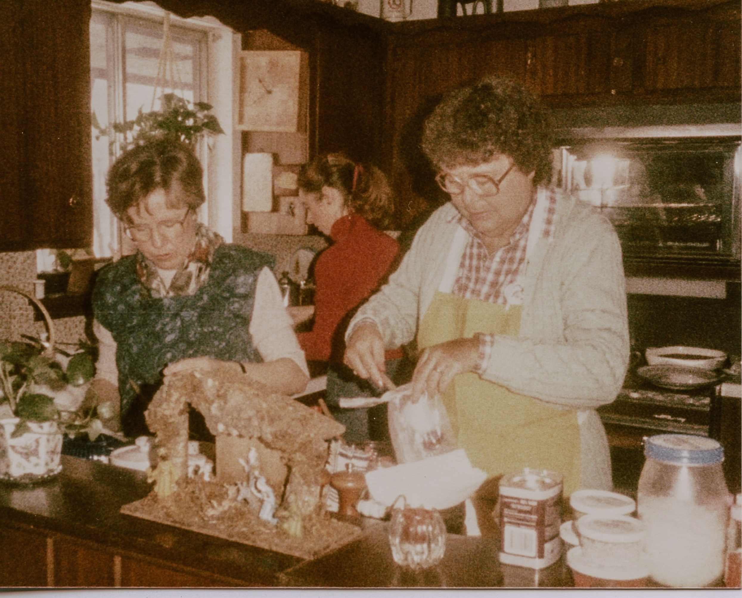 The two women who started it all. My mother, Virginia and her best friend, Evelyn. Circa 1980s.
